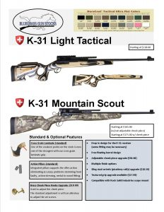 k31 light tactical_mountain scout