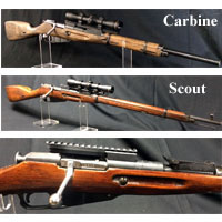 Modified Mosin Nagant Rifles